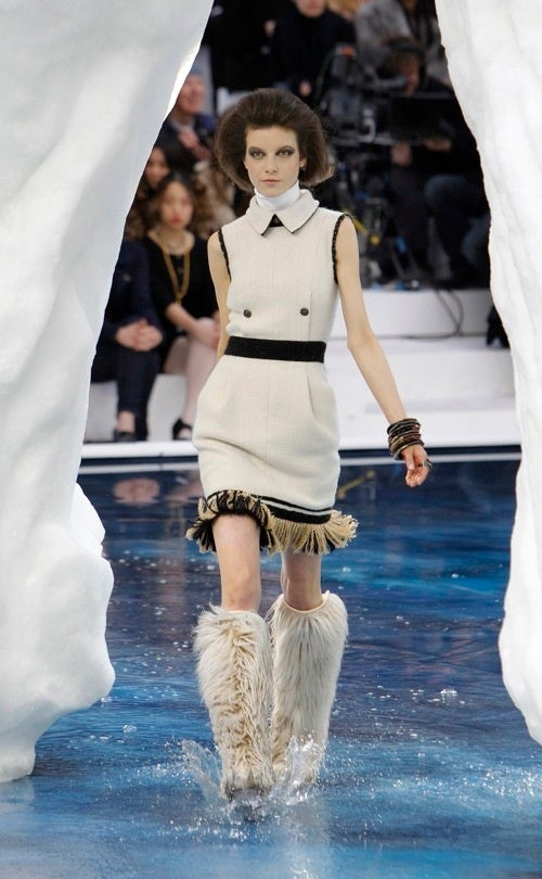 Literal Ice Queens Rule At Chanel