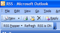 Read Feeds in Outlook 2003 with RSS Popper