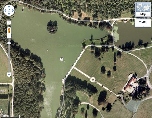 The Mysterious, Cursed Billiards Room Hiding Under an English Lake