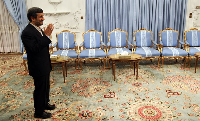 Ahmadinejad 'Bewitched' by Magician Adviser