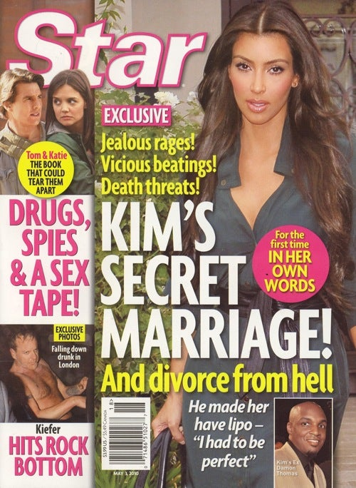 "This Week In Tabloids: Kim's Marriage Was Abusive; Larry King's A ""Sex Freak"""