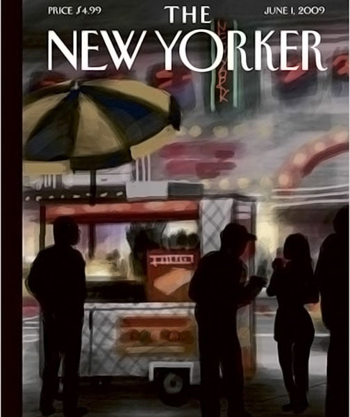 June 1st New Yorker Cover Drawn Entirely on the iPhone