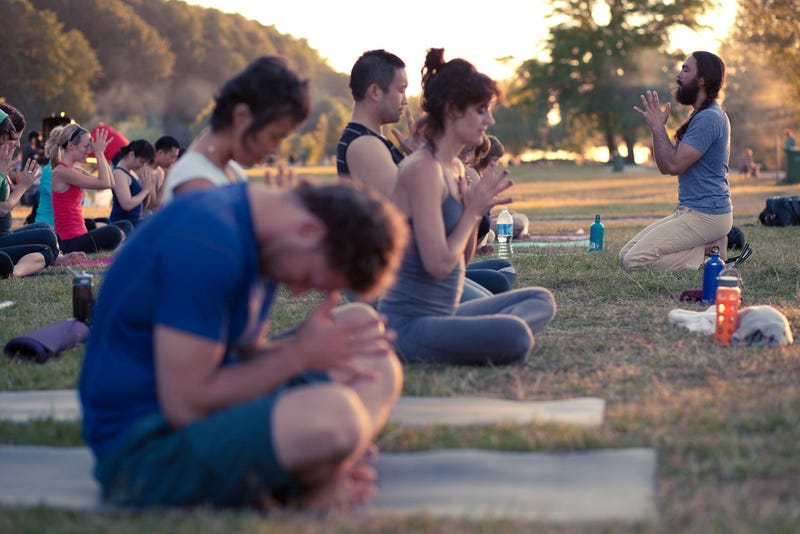 Should Atheists Be Allowed to Do Yoga?
