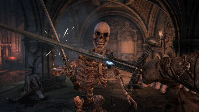 Hellraid Jumps To Current Gen, Looks Even More Like The Elder Scrolls