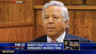 "Robert Kraft Takes Stand In Aaron Hernandez Trial, Explains His ""Work"""