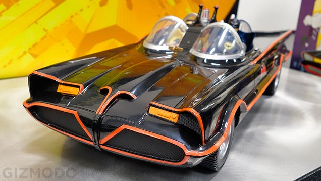 """Holy Classic 1966 Batmobile With Six-Inch Figures, Batman!"""