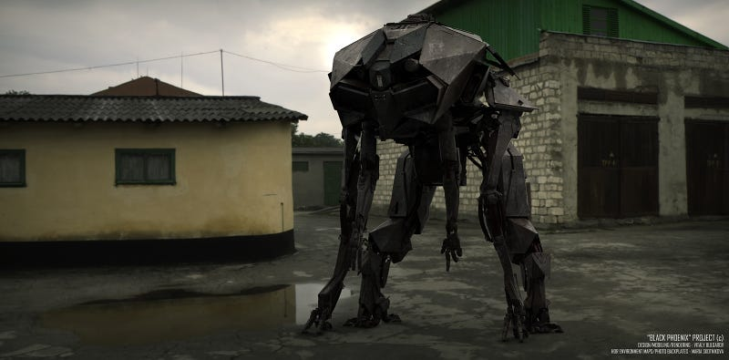 Amazing Mech Designs Hint At The Future Of Warfare (And Dogs)