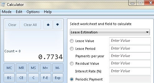 Get the Windows 7 Calculator in Vista