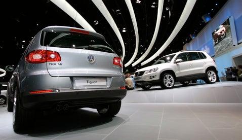 Frankfurt Auto Show: Volkswagen Tiguan