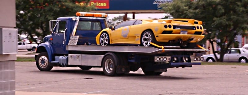 Here's What It Feels Like When Your Lamborghini Is Impounded