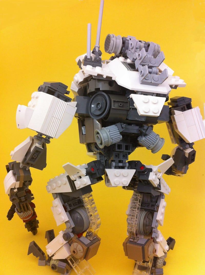 Lego Titanfall Titan And Half-Life Hunter-Chopper