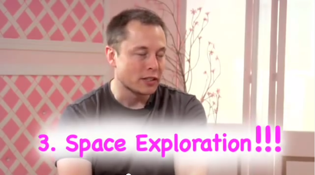 This Is Elon Musk's Pink YouTube Waking Nightmare
