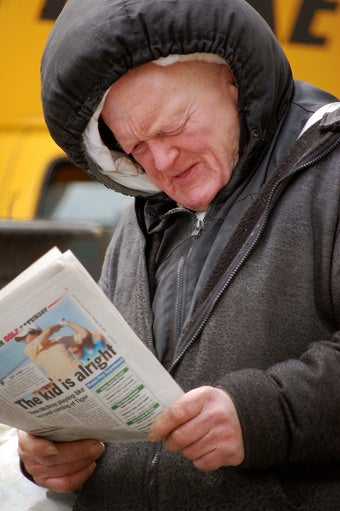 Crazy Man Wants to Buy Failing Newspaper From Bad Company