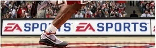 NBA Live 10 DLC? It Must be the Shoes.