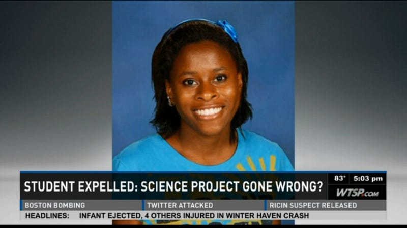 High School Student Won't Face Charges for Exploding Science Project
