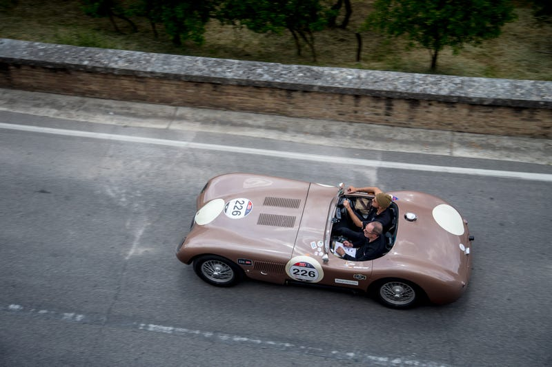 This Was Jaguar At The Mille Miglia