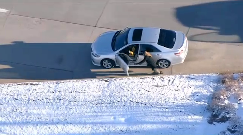 Watch Crystal Clear Footage of Insane Denver Area Carjacking