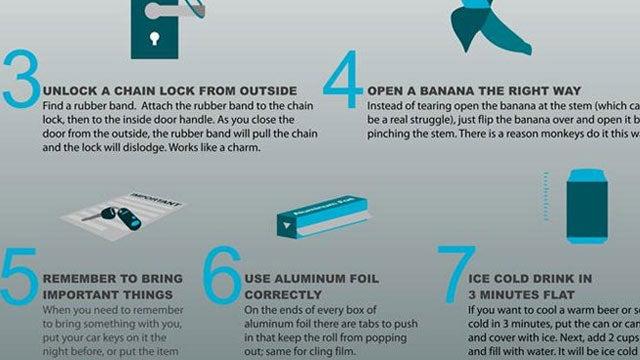 35 MacGyver Tips