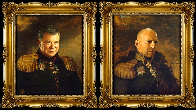 Male Actors Photoshopped Onto Bodies Of Russian Generals