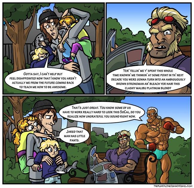 Sunday Comics: Equal Opportunity Upskirts