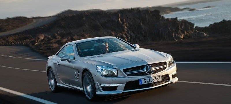 Mercedes Gives SL63 AMG More Power Because They Hate Tires