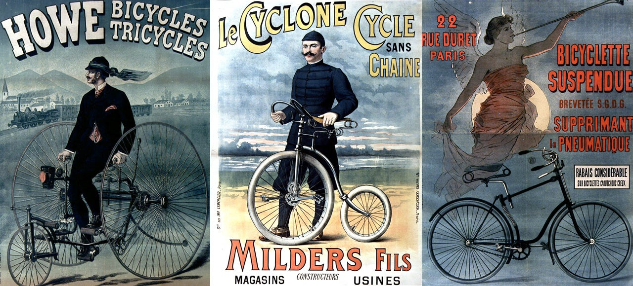 29 Wonderful Bike Ads From the Golden Age Of Cycling