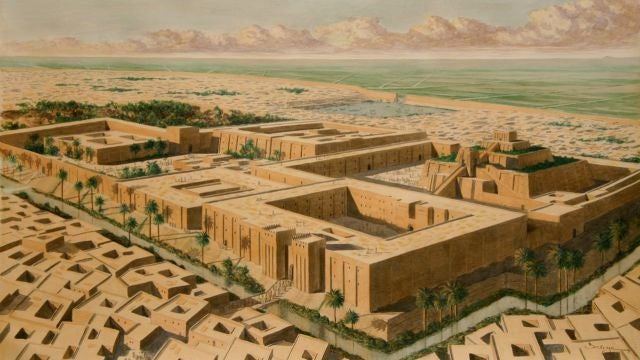 The story behind the world's oldest museum, built by a Babylonian princess 2,500 years ago