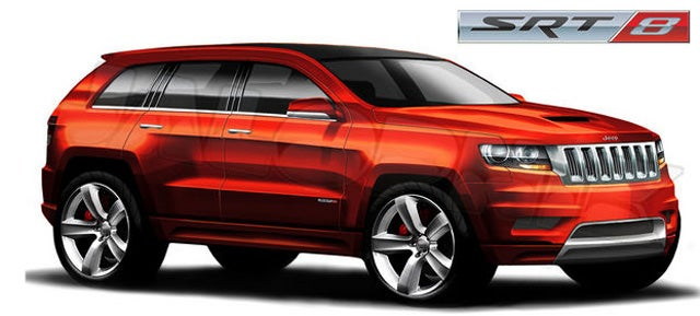 2012 Jeep Grand Cherokee SRT8 charging into NYC with 470 hp