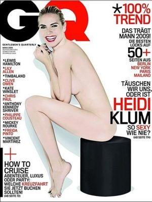 Karl Lagerfeld vs. Heidi Klum: Round 2