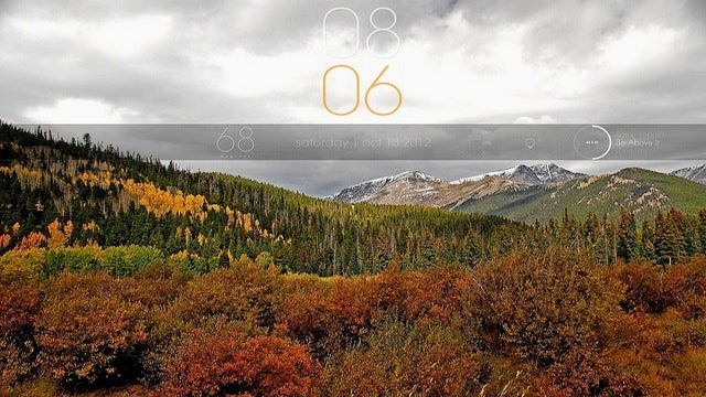The Autumn Desktop