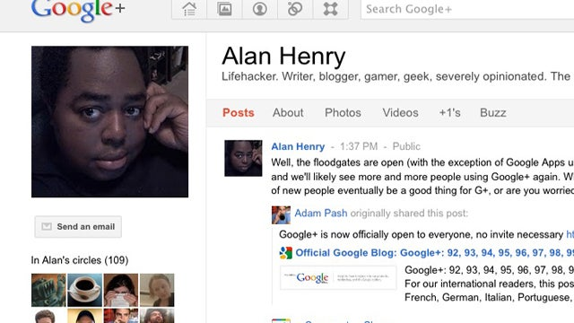Add Lifehacker's Writers to Your Circles on Google+ for Added Conversation and More Tips