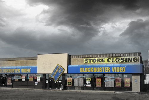 "Blockbuster Will Be ""Evaluating Every Single Store"""