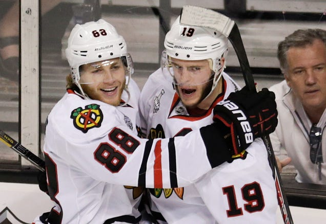 Jonathan Toews And Patrick Kane Are Getting Paid, And They're W…