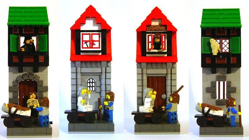 LEGO Monty Python Beats LEGO Star Wars, With a Stick