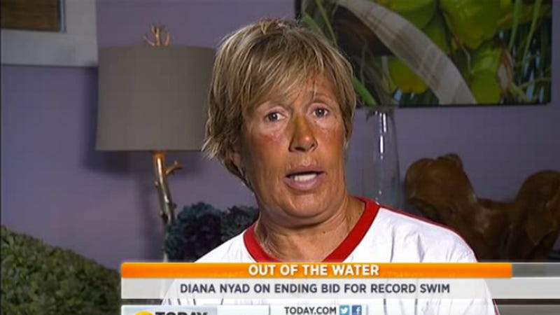 Diana Nyad on Failed Swim: It All Comes Down to the Jellyfish
