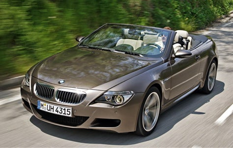Clarkson on the M6 Convertible
