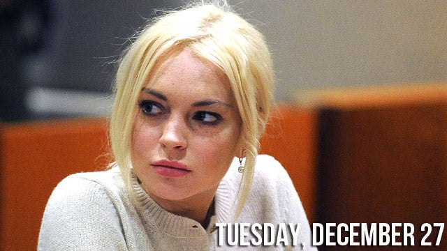 Lindsay Lohan Bravely Turns Down New Year's Eve Cash