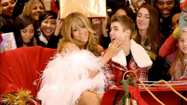 Mariah Carey Helps Justin Bieber Ruin 'All I Want For Christmas' In New Music Video