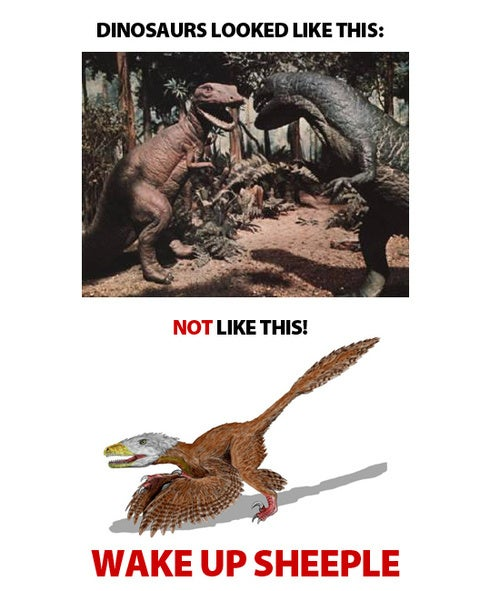 Feathered Dinosaurs Are Theory - Not Fact!