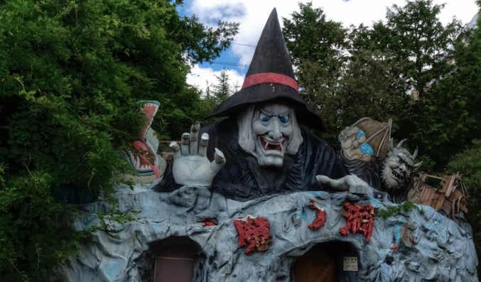 The Nara Dreamland amusement park is a real-life Spirited Away