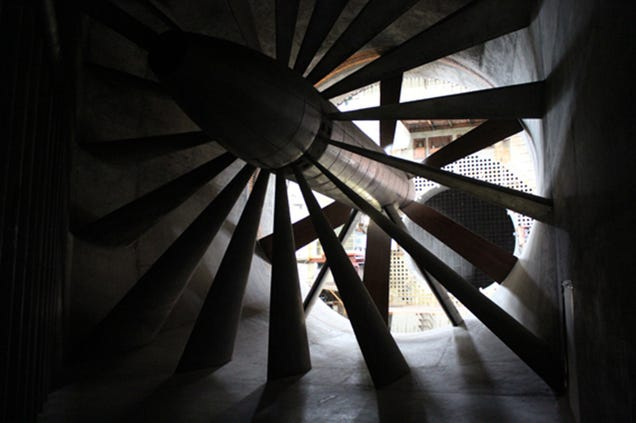 You Can Explore This WWII-Era Wind Tunnel For the First Time Ever