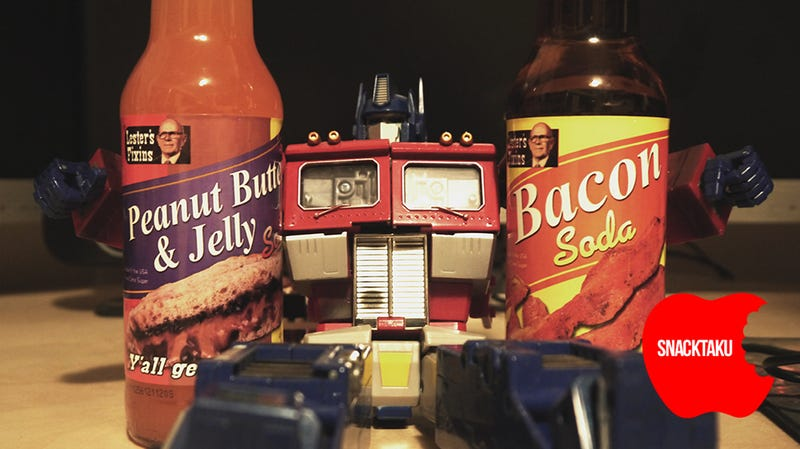 Peanut Butter & Jelly and Bacon Soda: The Snacktaku Review