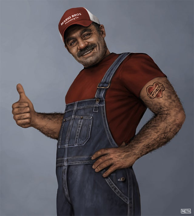 What a Real Mario Brother Would Look Like