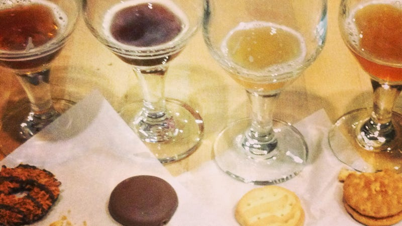 Love Girl Scout Cookies and Being Drunk? Get Up on This Cookie Beer