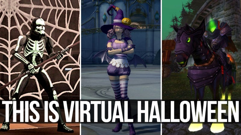 It's a Massively Multiplayer Online Halloween Spooktacular