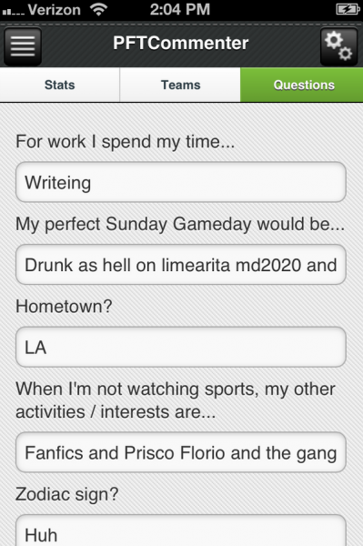 "One Man's Epic Review of a ""Match.com for NFL Fans"""