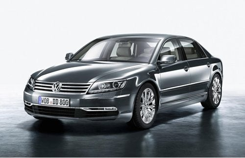 New VW Phaeton
