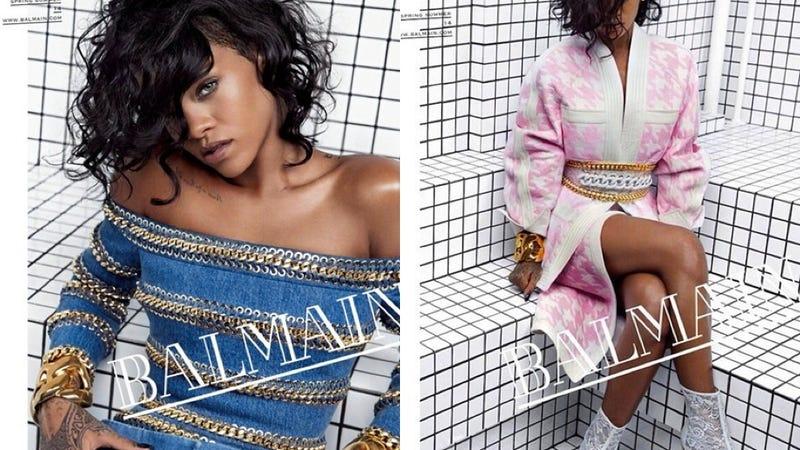 Rihanna Is The New Face Of Balmain