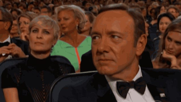 Do Not Bug Kevin Spacey at the Emmys