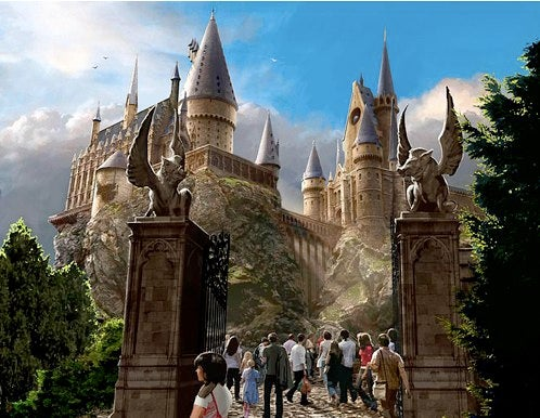 20 minute sneak peek at Harry Potter's real-world theme park